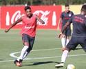Livre de dores, Vitinho volta aos treinos e ganha chance de enfrentar o líder