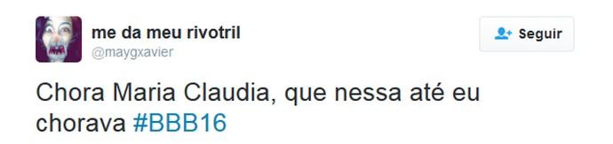 tweet cacau chorando (Foto: Reprodução/Internet)