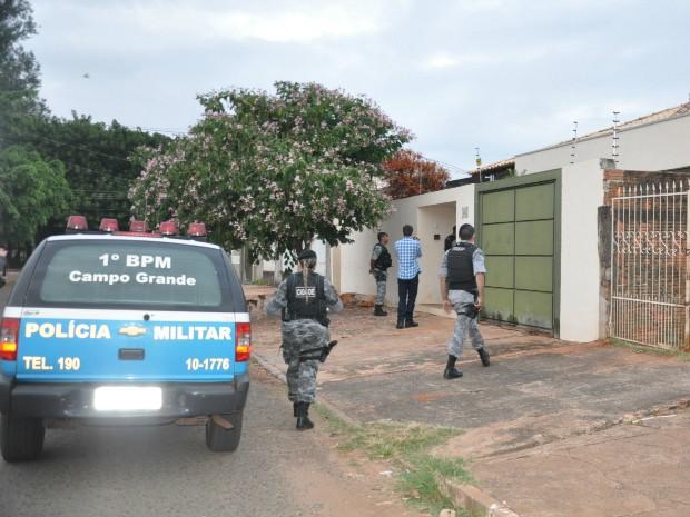 Gaeco monta operação para prender líderes de facções criminosas em MS (Foto: Tatiane Queiroz/G1 MS)