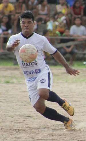 Marcelo Pitbull (ex-São Raimundo) joga atualmente no Clube do Remo de Juruti (Foto: Frank Wallace)