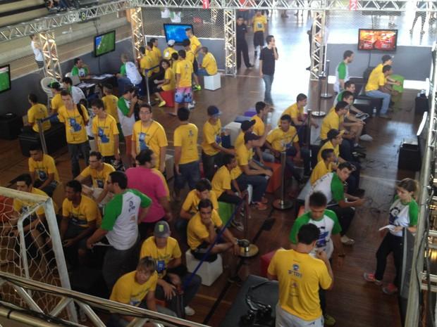 TEM Games 2014 Tatuí (Foto: Tatiane Santos / G1)