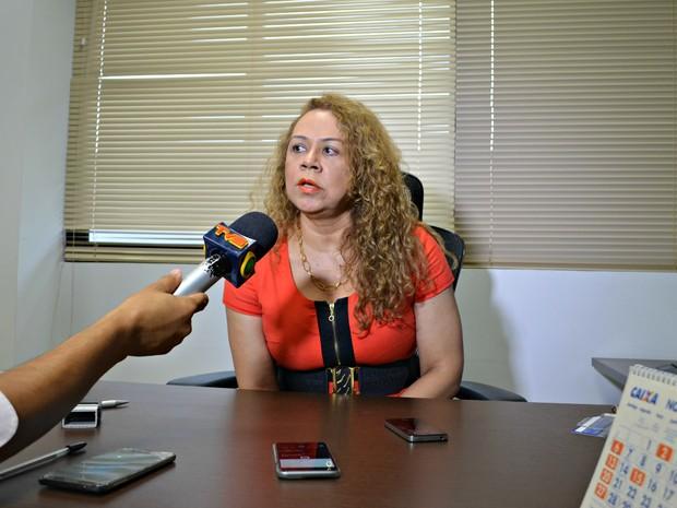 Juiza Luana Campos, da Vara de Execuções Penais, disse que presos do regime fechado devem ser remanejados  (Foto: Caio Fulgêncio/G1)