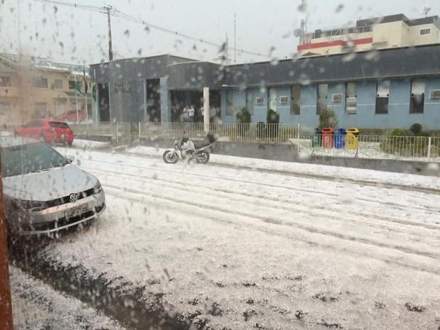 Região central do estado foi uma das mais atingidas (Foto: Marina Alves de Oliveira)
