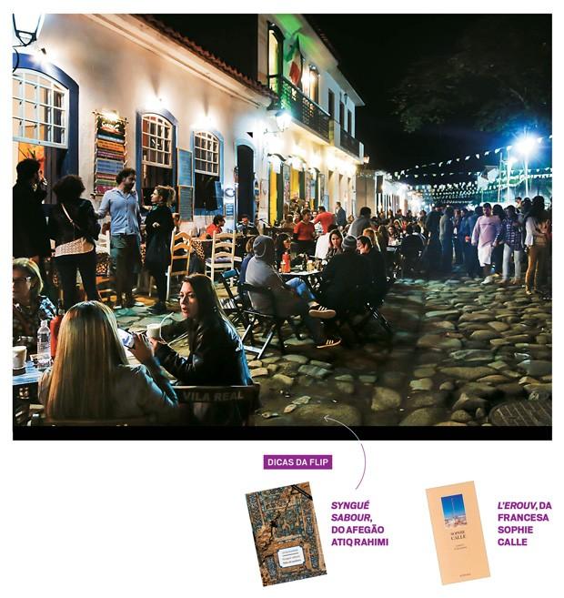 Paraty: a feira literária da cidade é uma das fontes de Claudia para montar o seu acervo (Foto: Agência O Globo)