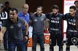 Bastidores do jogo contra o Olimpia no Paraguai