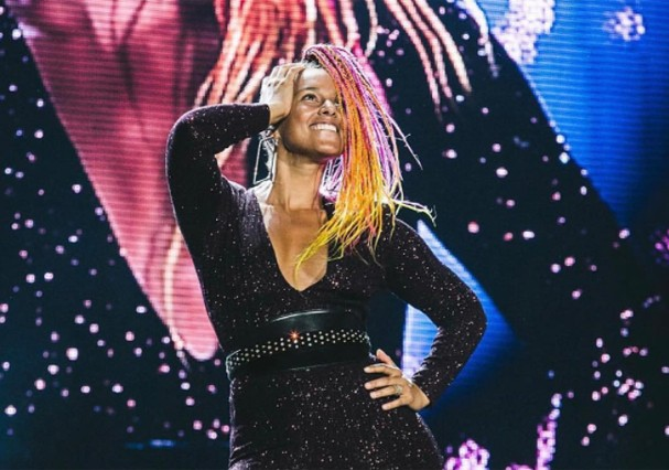 Alicia Keys no Rock in Rio (Foto: Instagram/Reprodução)