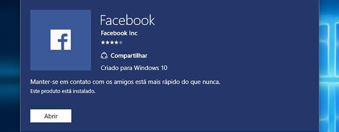 Baixe e instale o Facebook (Foto: Reprodução/Paulo Alves) (Foto: Baixe e instale o Facebook (Foto: Reprodução/Paulo Alves))