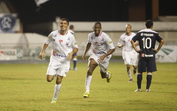 Rafael Paty comemorando gol na final do Parazão (Foto: Tarso Sarraf/O Liberal)