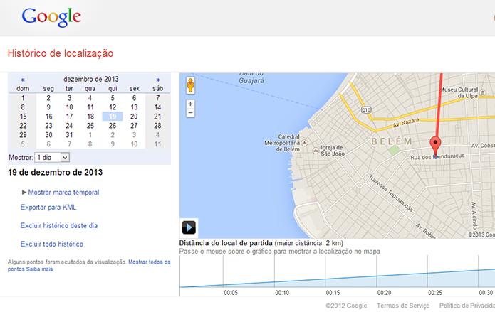 Abra a página de localização logado com sua conta Google (Foto: Reprodução/Paulo Alves) (Foto: Abra a página de localização logado com sua conta Google (Foto: Reprodução/Paulo Alves))