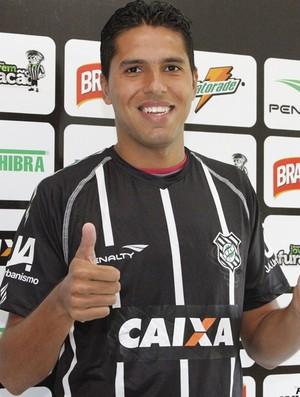Willian Magrão, Figueirense (Foto: Luiz Henrique / Divulgação FFC)