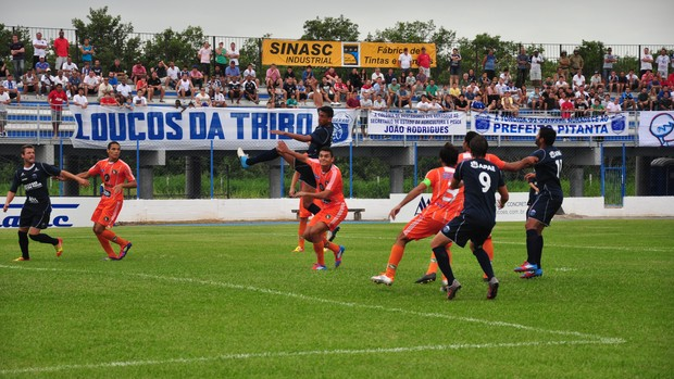 Guarani de Palhoça vence o Camboriú por 1 a 0 (Foto: Cristina Estefano / SER Guarani)