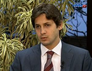Flávio Zveiter, presidente do Superior Tribunal de Justiça Desportiva (STJD)