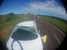 Engenheiro capota carro na Rodovia Marechal Rondon perto de Castilho