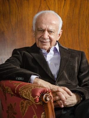 O ex-senador Pedro Simon (PMDB) (Foto: Anderson Astor/Editora Globo)