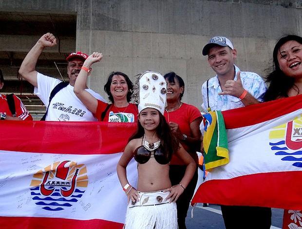 torcida taiti arena pernambuco (Foto: Terni Castro)