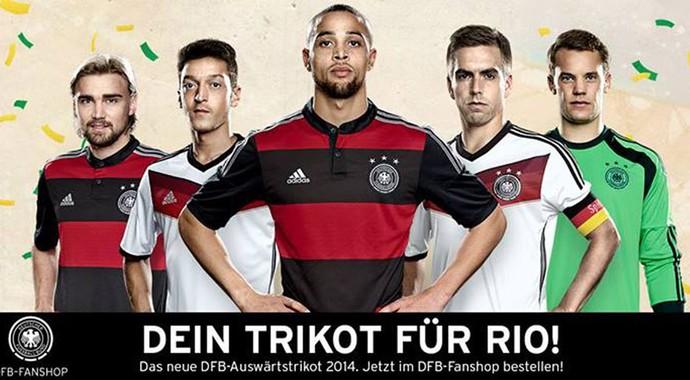 Camisa Alemanha (Foto: Reprodução / Facebook)