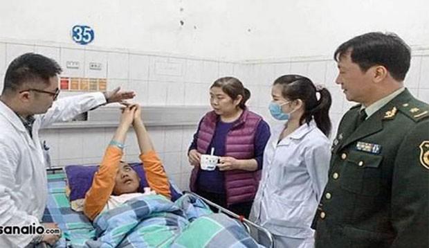 Chinês acordou do coma após enfermeiros passarem dinheiro debaixo de seu nariz (Foto: Reprodução/YouTube/Mocaz News)