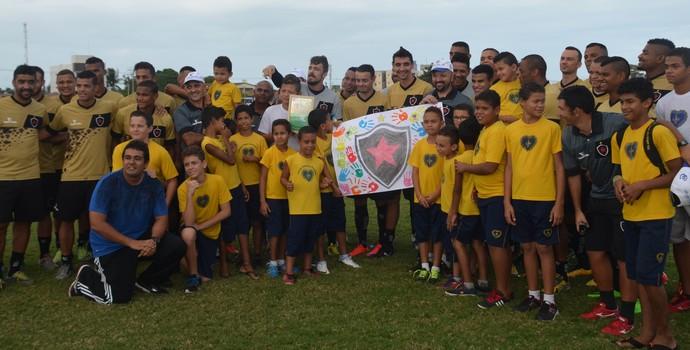 Botafogo-PB, LBV (Foto: Edgley Lemos / GloboEsporte.com/pb)