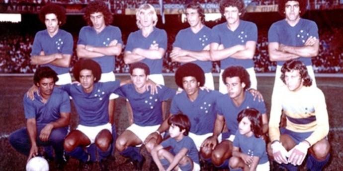 Cruzeiro 1976 (Foto: Site Oficial Cruzeiro/Reprodução)