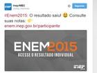 Nota do Enem 2015: site do Inep tem instabilidade após divulgar resultado