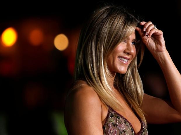 Jennifer Aniston em première de filme em Los Angeles, nos Estados Unidos (Foto: Mario Anzuoni/ Reuters)