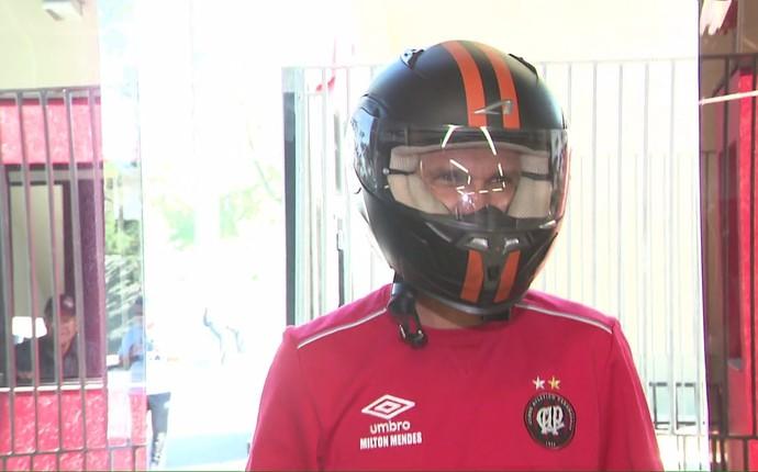 Milton Mendes Atlético-PR (Foto: Reprodução/ RPC)