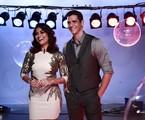 Juliana Paes e Marcio Garcia no 'Globo de ouro palco VIVA' | Babi Profeta / Viva