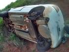 Motorista capota em rodovia em Manduri e vai preso por embriaguez