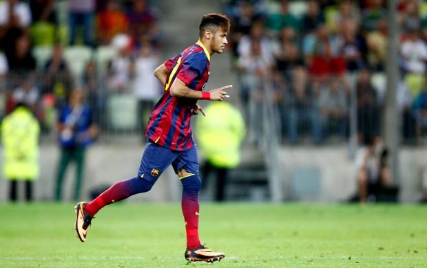 Neymar estreia Barcelona (Foto: Reuters)