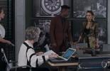 Sabine recebe Sandra Helena em seu escritório