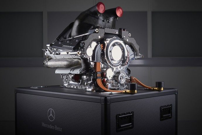 Mercedes PU106B Hybrid, a poderosa unidade de potência das Flechas de Prata (Foto: Divulgação)