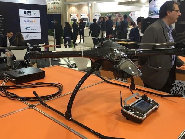 Drone UX-SPYRO. (Foto: G1)