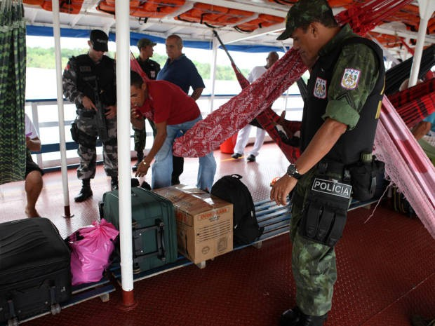 Eirene Operação Policiais Militares Belém Pará (Foto: Rodolfo Oliveira/Agência Pará)