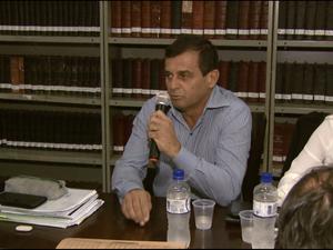 Monsignati, foi ouvido nesta quinta-feira (23) por mais de três horas na CPI dos cheques em São Carlos (Foto: Paulo Chiari/EPTV)