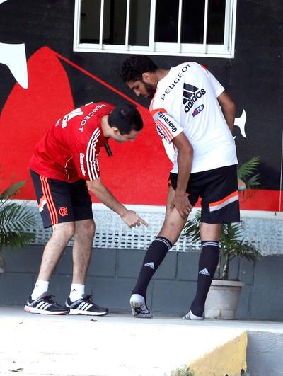 Wallace Treino Flamengo (Foto: Cezar Loureiro / Agência O Globo)