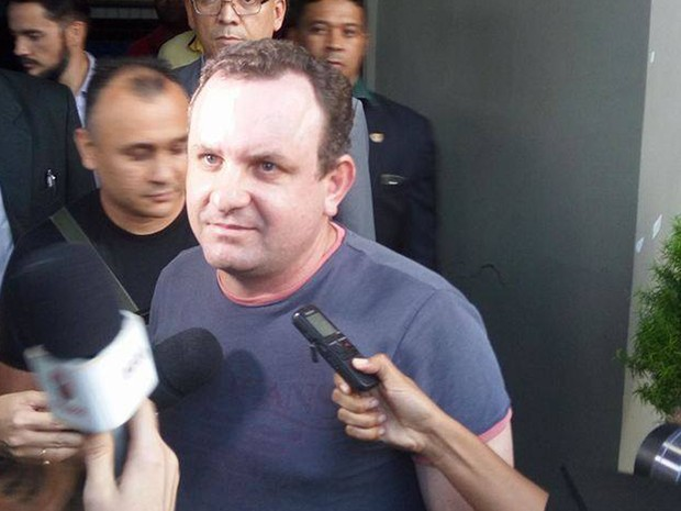 Prisão do empresário Humberto Dantas dos Santos foi pedida Delegacia Especial da Mulher de São Luis (Foto: Alan Delon/ Rádio Mirante AM)