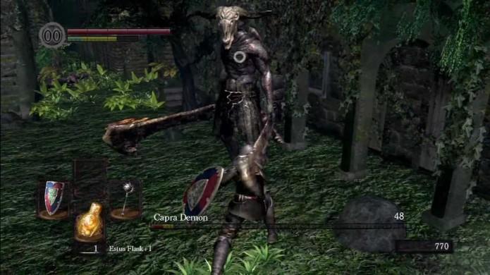 Bata em Capra Demon, mas não se esqueça de fugir depois (Foto: Reprodução/Youtube)
