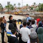 Estudantes visitam obras do Parque da Cidade