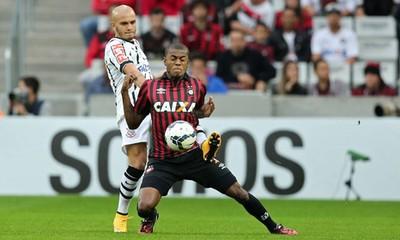 marcelo fabio santos Atlético-PR x Corinthians (Foto: Getty Images)