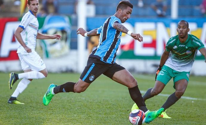 Lucas Barrios Grêmio (Foto: Lucas Uebel/Grêmio)