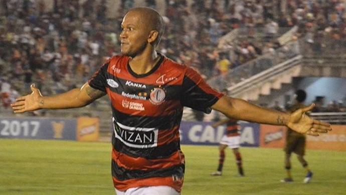 Reinaldo Alagoano, Campinense (Foto: Samy Oliveira / Campinense)