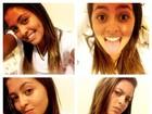 Filha de Romário faz caras e bocas e posta foto em rede social
