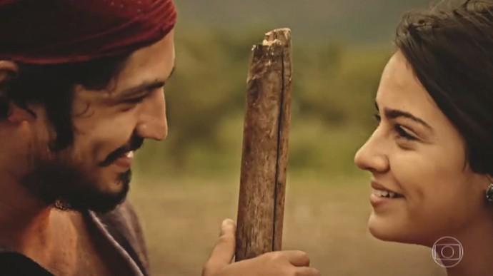 Miguel e Olívia vão representar a esperança de um mundo melhor na terra (Foto: TV Globo)