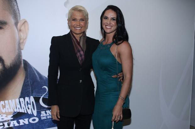 Xuxa Meneghel e Graciele Lacerda (Foto: Thiago Duran e Eduardo Martins/AgNews)
