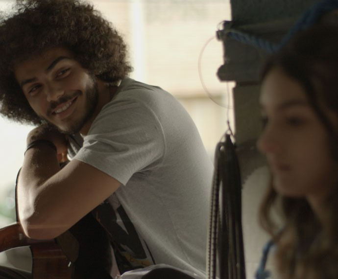 Pedro não perde a esperança com Lu (Foto: TV Globo)