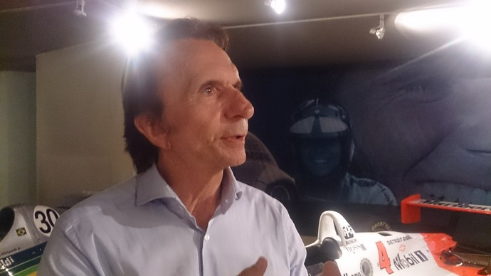 Emerson Fittipaldi entrevista (Foto: Felipe Siqueira)