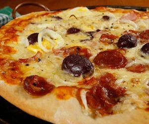 Pizza caseira: receita da Carolina Ferraz