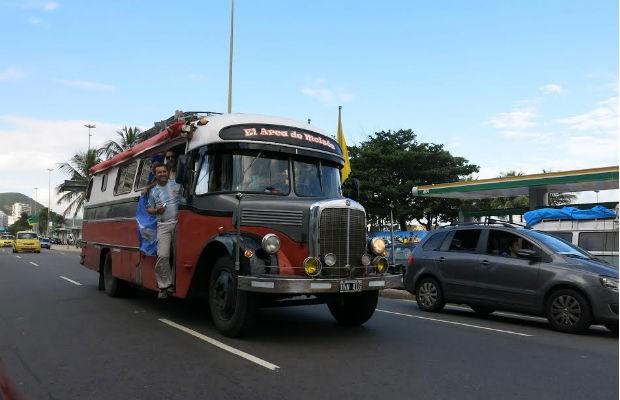 Ônibus Mercedes-Benz Arca de Moisés (Foto: Jason Vogel)