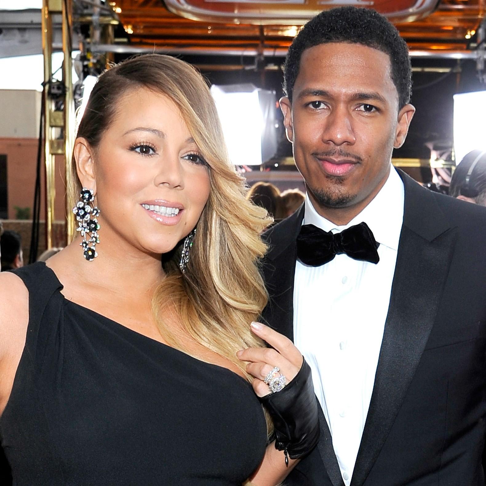 Mariah Carey se casou em 2008 com o rapper e proudtor Nick Cannon. Eles haviam namorado apenas por seis semanas antes da cerimônia. E estão firmes até hoje. (Foto: Getty Images)