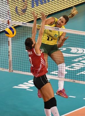 Tandara selecao brasileira Grand Prix Brasil x Turquia (Foto: Divulgação/FIVB)